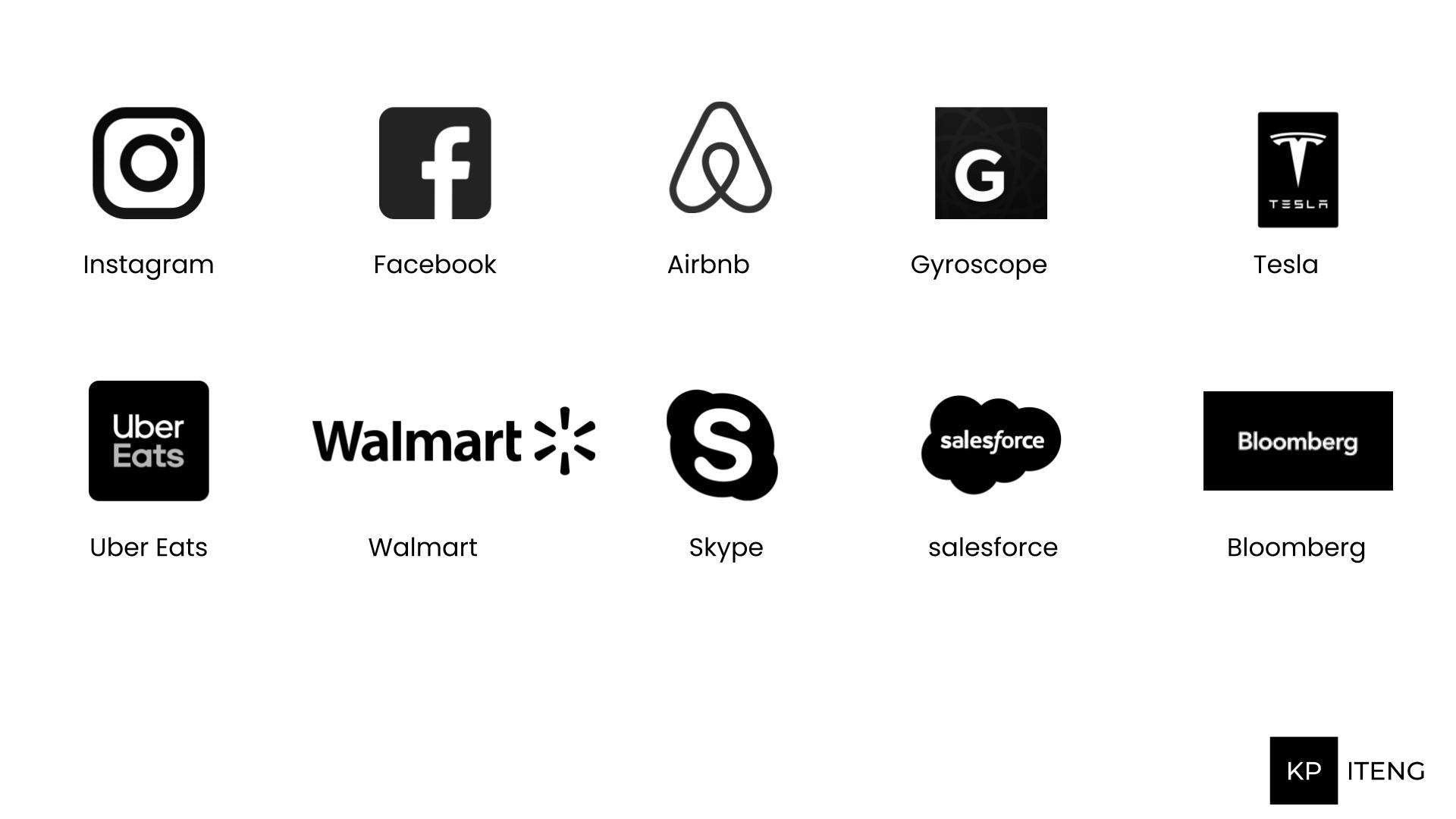 Popular Brands Using React Native